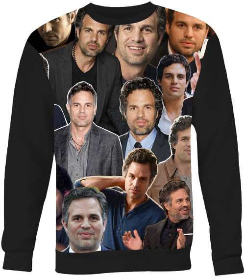 Mark Ruffalo Collage Sweater Sweatshirt