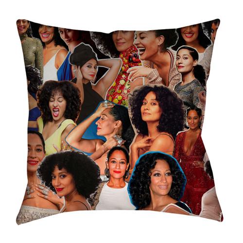 Tracee Ellis Ross Photo Collage Pillowcase