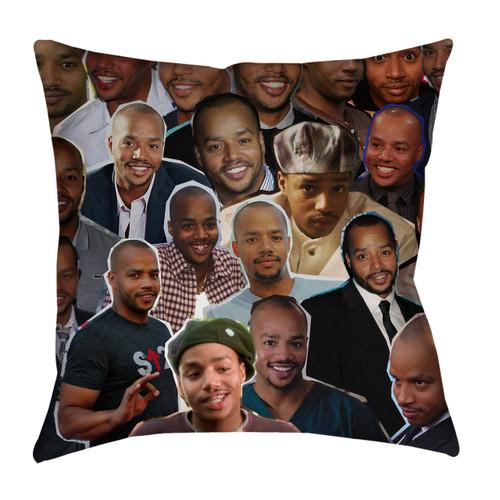 Donald Faison pillowcase