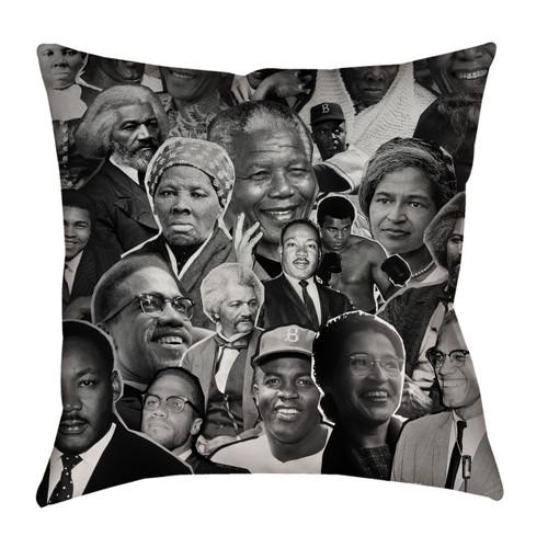 Black Rights Activists pillowcase