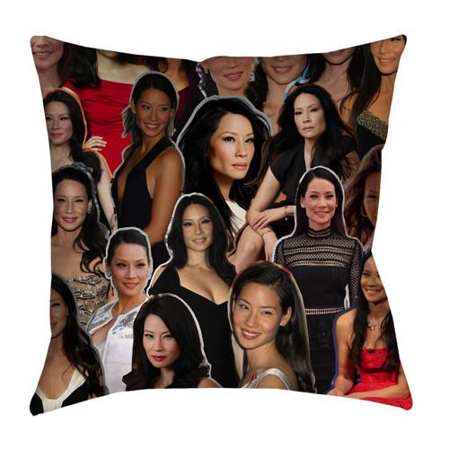 Lucy Liu pillowcase