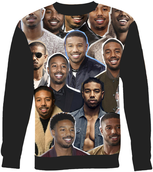 Michael B. Jordan Collage Sweater Sweatshirt