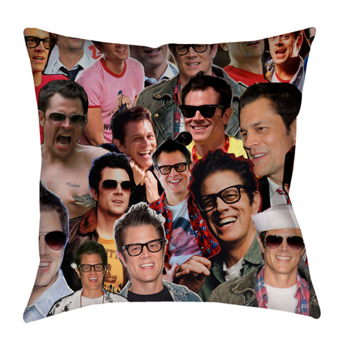 Johnny Knoxville pillow