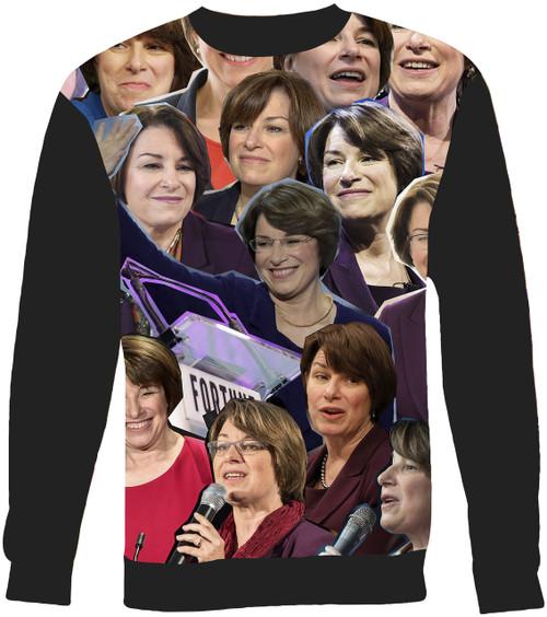 Amy Klobuchar Collage Sweater Sweatshirt