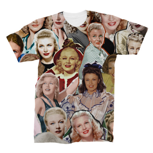 Ginger Rogers tshirt