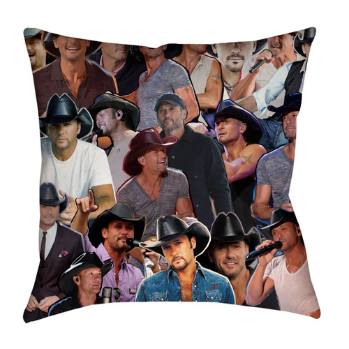 Tim McGraw Pillowcase