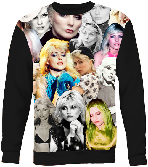 Debbie Harry (Blondie) Collage Sweater Sweatshirt