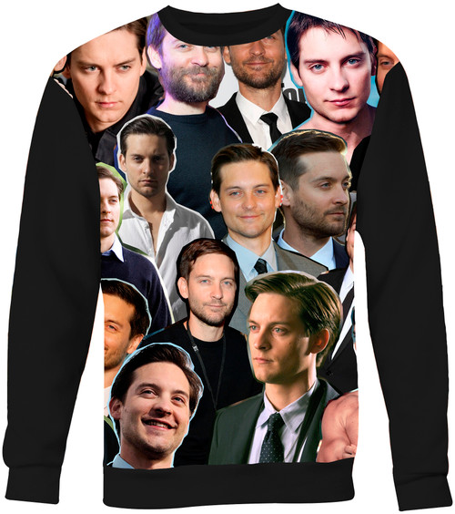 Tobey Maguire Collage Sweater Sweatshirt