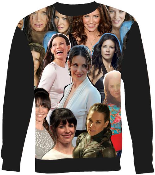 Evangeline Lilly Collage Sweater Sweatshirt