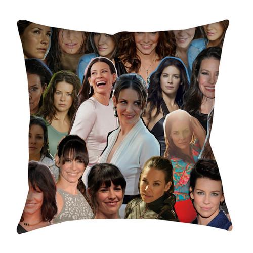 Evangeline Lilly pillowcase