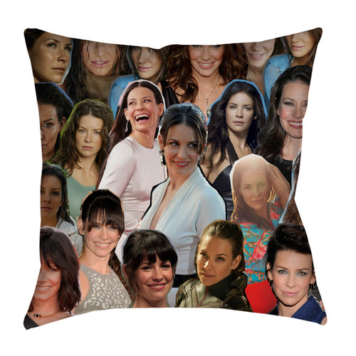 Evangeline Lilly pillowcase