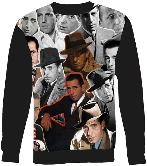 Humphrey Bogart Collage Sweater Sweatshirt