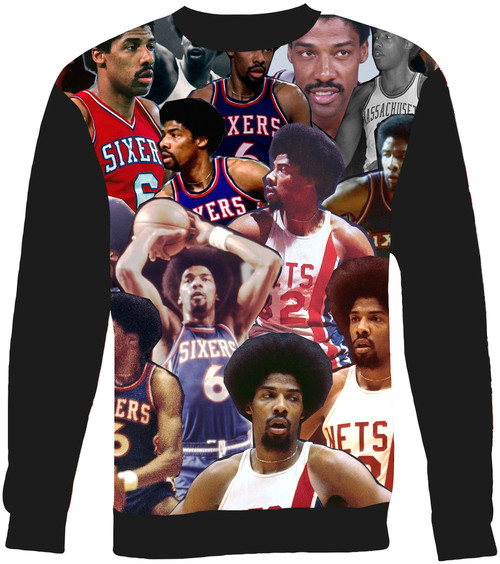 Julius Erving Collage Sweater Sweatshirt