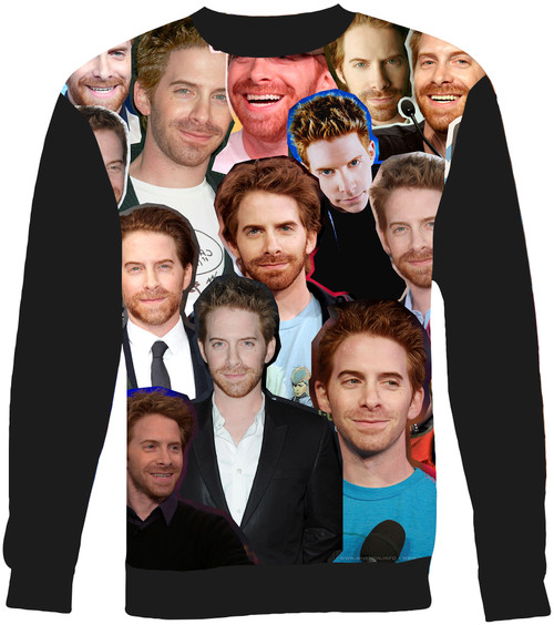 Seth Green Collage Sweater Sweatshirt