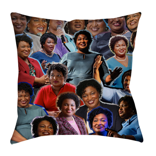 Stacey Abrams pillowcase