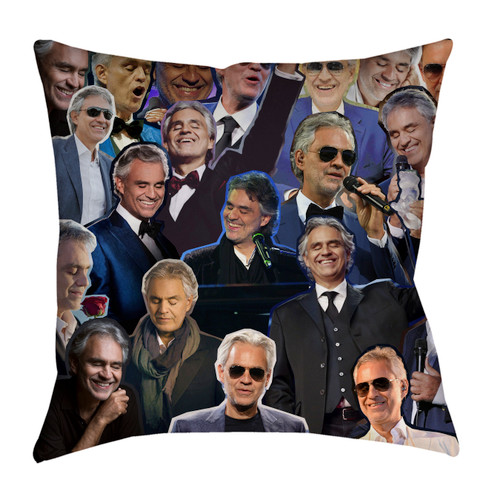Andrea Bocelli pillowcase