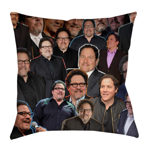 Jon Favreau Photo Collage Pillowcase