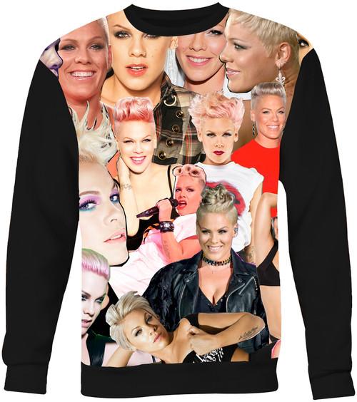 Pink Sweater Sweatshirt