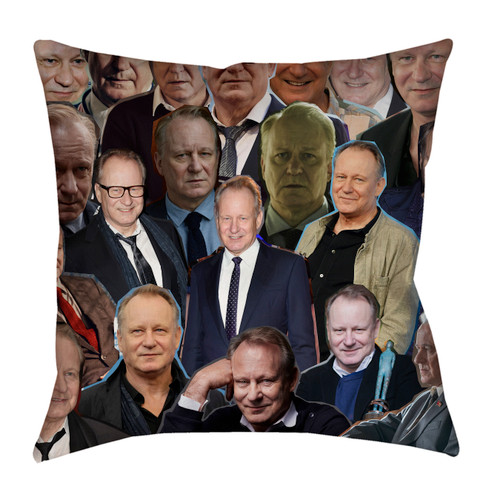 Stellan Skarsgard Photo Collage Pillowcase