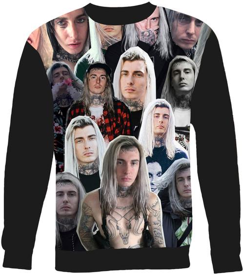 Ghostemane Collage Sweater Sweatshirt