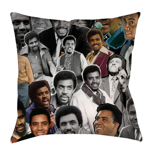 Jimmy Ruffin Photo Collage Pillowcase