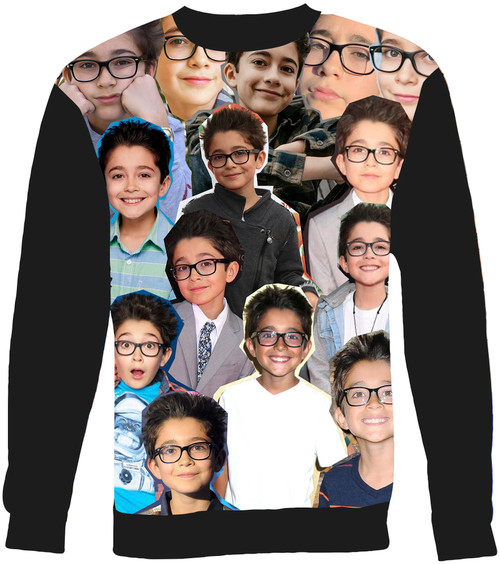 Nicolas Bechtel Collage Sweater Sweatshirt