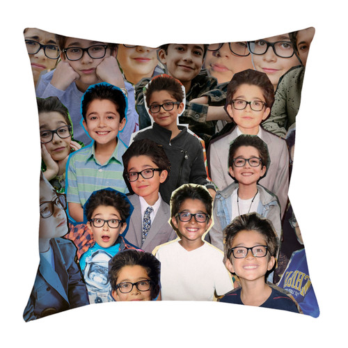 Nicolas Bechtel Photo Collage Pillowcase
