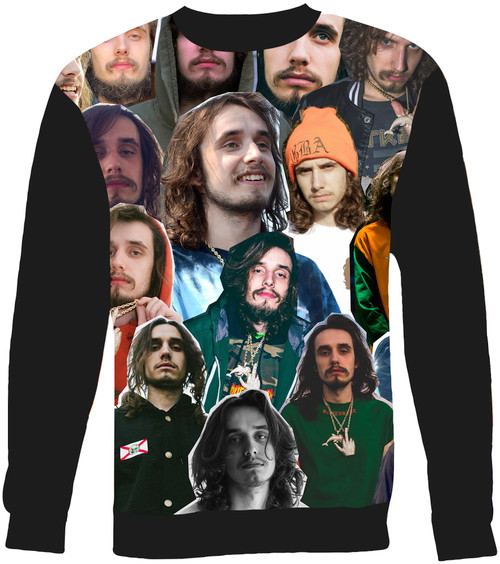 Pouya Collage Sweater Sweatshirt