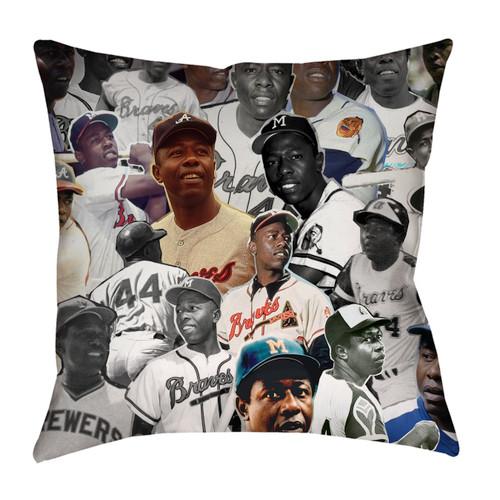 Hank Aaron pillowcase