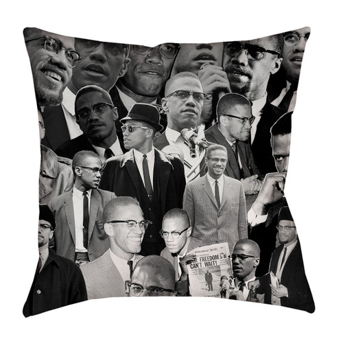 Malcolm X Photo Pillowcase