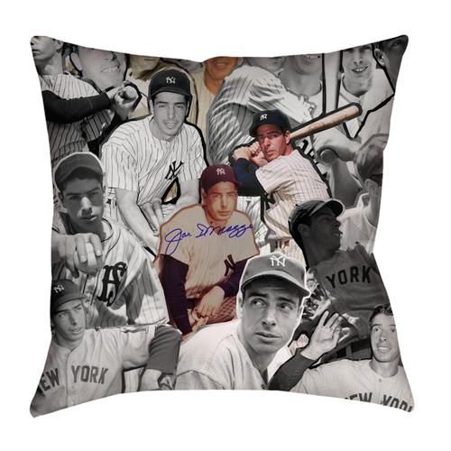 Joe Dimaggio Photo Collage Pillowcase