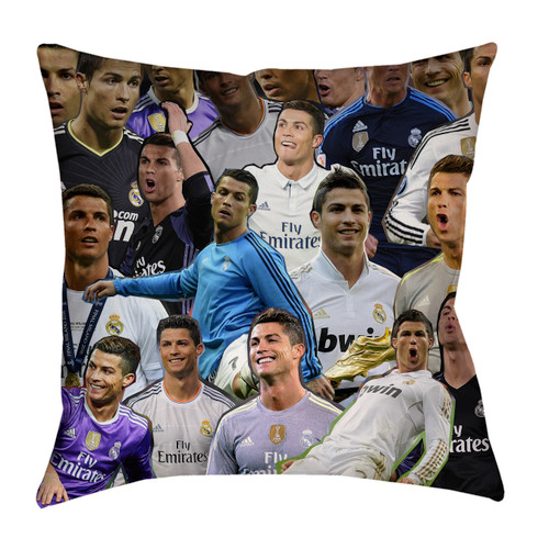Cristiano Ronaldo Photo Collage Pillowcase