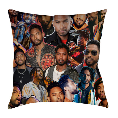 Miguel Photo Collage Pillowcase