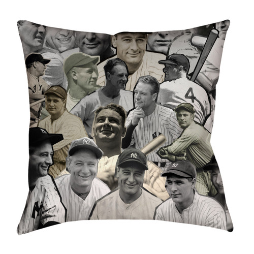 Lou Gehrig pillowcase
