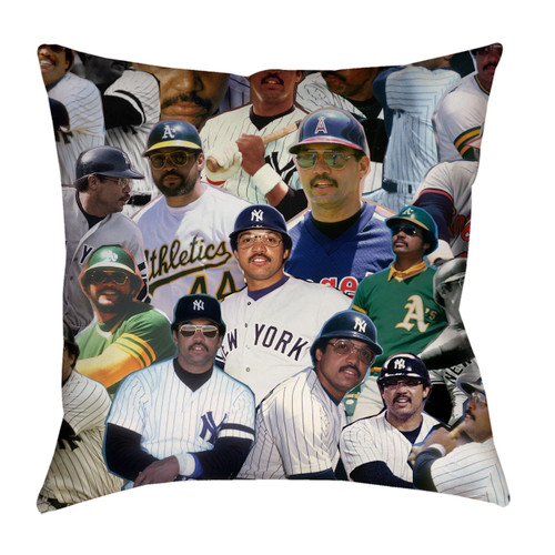 Reggie Jackson pillowcase