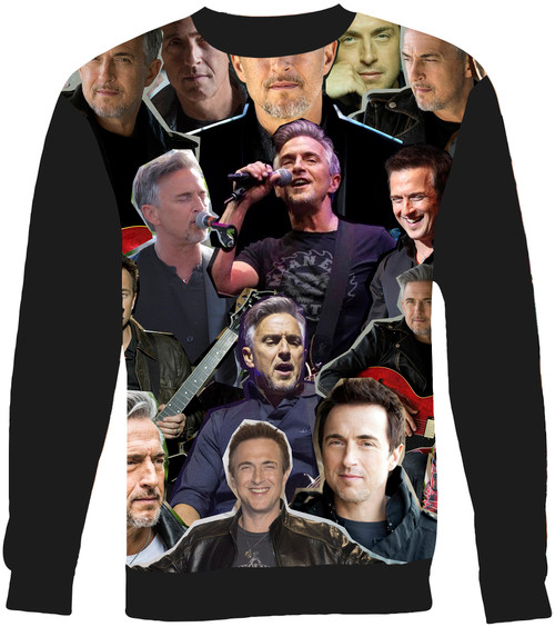 Colin James Collage Sweater Sweatshirt