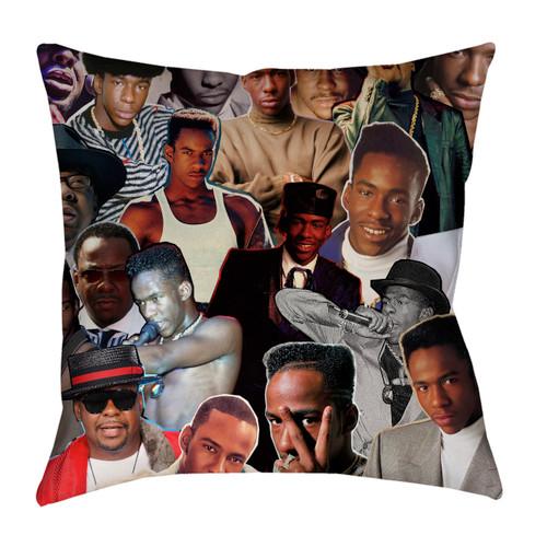 Bobby Brown Photo Collage Pillowcase