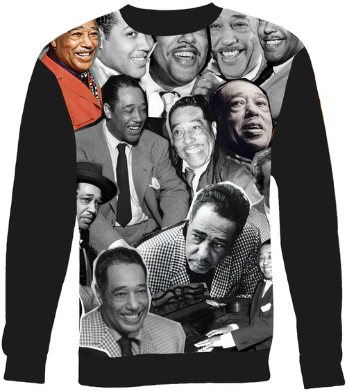 Duke Ellington Collage Sweater Sweatshirt