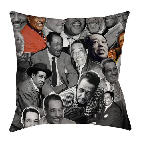 Duke Ellington Photo Collage Pillowcase