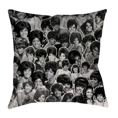 The Marvelettes Photo Collage Pillowcase