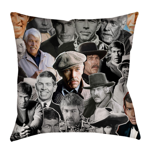 James Coburn pillowcase