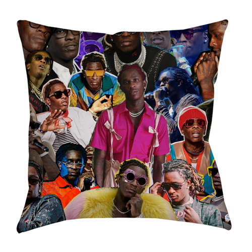 Young Thug pillowcase