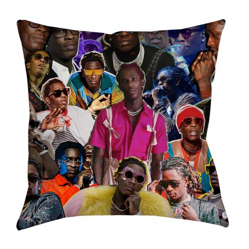 Young Thug pillowcase