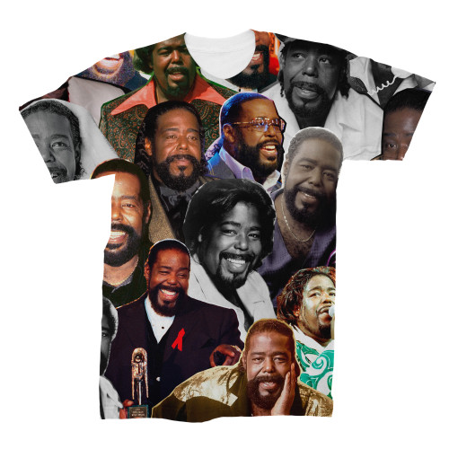 Barry White tshirt