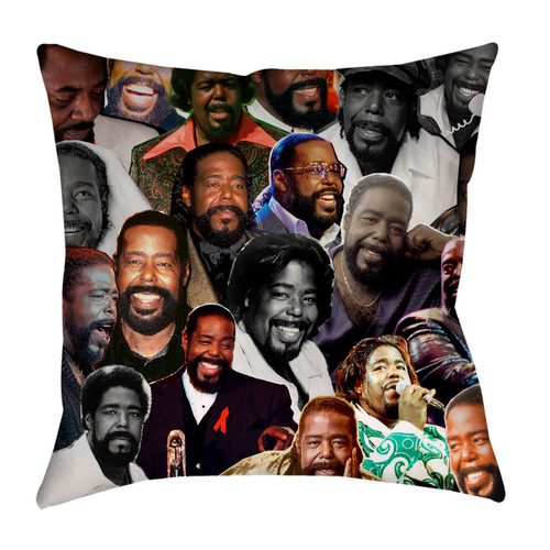 Barry White pillowcase
