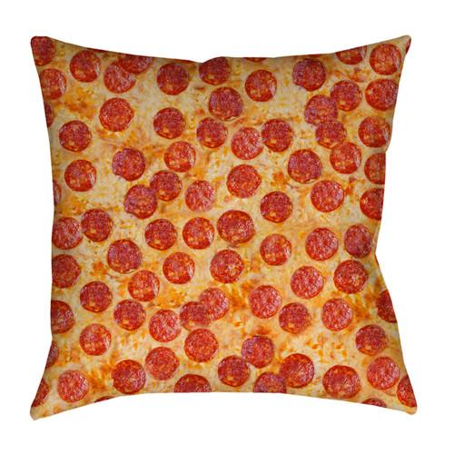 Pepperoni Pizza pillowcase