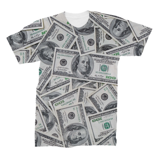 100 Dollar Bill tshirt