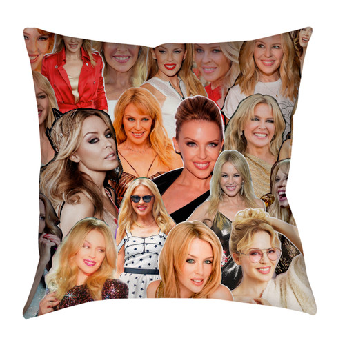 Kylie Minogue Photo Collage Pillowcase