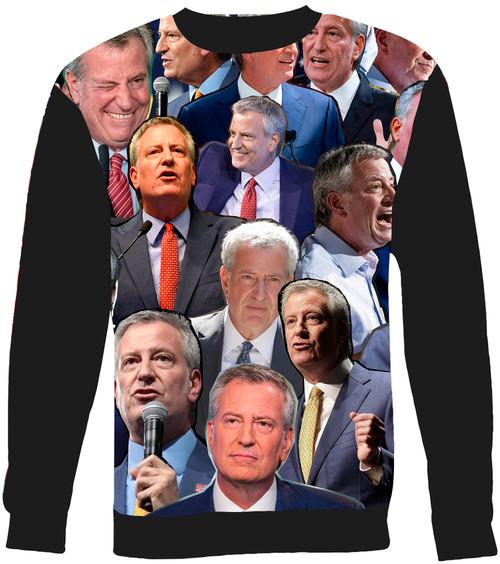 Bill de Blasio sweatshirt