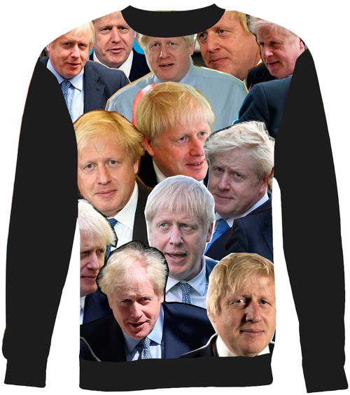 Boris Johnson sweatshirt
